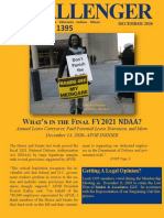 Challenger AFGE Local 1395 Newsletter Winter 2021
