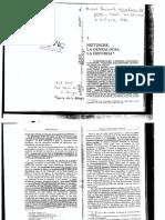 Baerga Nietzsche, la genealogia, la historia