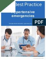 Hypertensive emergencies part 1