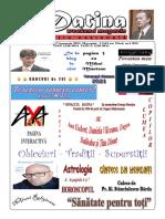 Datina - editie 16-17.01.2021- prima pagină