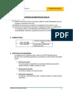 Informe 1 - Obtención muestras de suelos