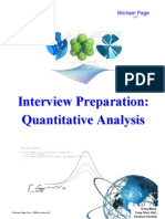 Interview Prep for Junior Quants