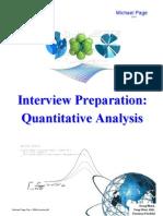 Interview Prep for Junior Quants