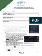 iPreFlight Genesis Quick Start Guide v.1.2 (1)