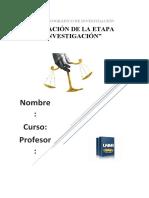 EVALUACIÓN DE LA ETAPA DE INVESTIGACIÓN -final2