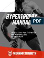 The Hypertrophy Manual by Matt Wenning