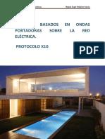 Sistemas Basados en Ondas Portadoras Sobre La Red Electrica X10