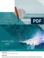 SURF LOOK Usability Testing