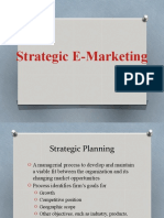 04 Strategic E-Marketing
