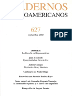 Cuadernos hispanoamericanos 627 sep 2002