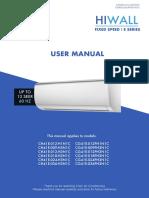 Manual CIAC CH41E-CG41E