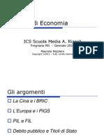 Lezione Economia Sc_Media 26012011