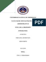 Ética y periodismo-Anahi Zea,Fernanda Mogrovejo,Diego Brito