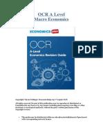 OCR Macro Economics