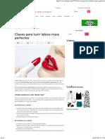 Claves para lucir labios rojos perfectos - IMujer.pdf