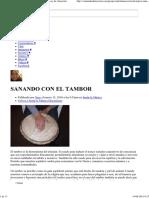 SANANDO CON EL TAMBOR