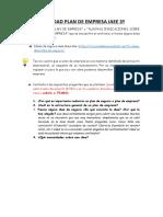ACTIVIDAD PLAN DE EMPRESA IAEE 3º