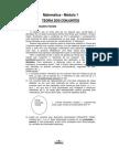 Matemática - Módulo 01 - Teoria dos Conjuntos
