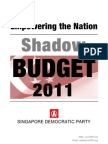 SDP's Shadow Budget 2011