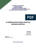 Guía Diseño Instruccional