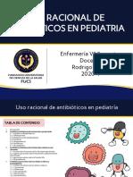 USO RACIONAL DE ANTIBIOTICOS pediatria