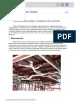 Economisirea energiei in sistemele de ventilatie