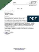 2021.01.15 DBPR Secretary Halsey Beshears - Resignation Letter