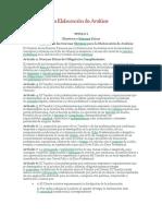 Normas para la Elaboración de Avalúos
