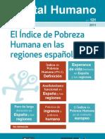 El Índice de Pobreza Humana en las regiones españolas