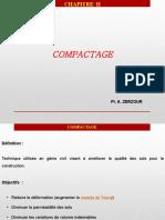 2-  Compactage