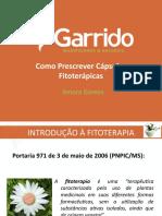 COMO PRESCREVER CÁPSULAS FITOTERÁPICAS.pptx