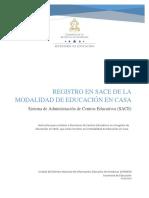 Instructivo para el Registro de Educandos bajo Modalidad de Educacion en Casa_2020