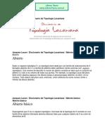 Lacan, Jacques - Diccionario de Topologia Lacaniana.pdf