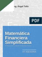 Flyer Matemática financiera - AT ASESORIA