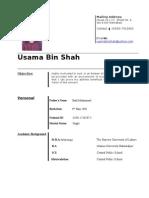 usama bin shah
