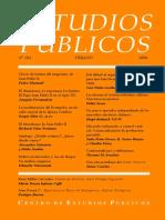 Revista Estudios Publicos 101