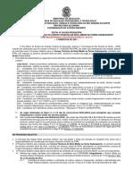 Edital no 30.2020-PROEN 2014 Cursos Tecnicos Subsequentes 2021.1 - Completo -com a 3a Retificacao