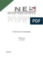 Control social y la criminología