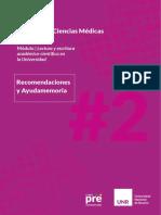 RECOMENDACIONES_ Fac_Cs_Medicas_sem2