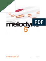 Melodyne 5 studio Reference Manual, Pro Tools 2020.11, English