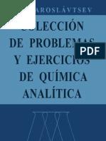 COLECCIÓN DE PROBLEMAS Y EJERCICIOS DE QUÍMICA ANALÍTICA