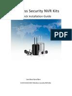 Manual de instalación Wireless-Security-NVR-