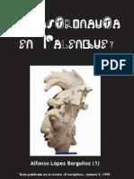 Un astronauta en Palenque?