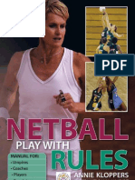 Netball Play with Rules