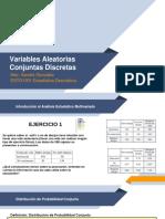 Clase 20 Variables Aleatorias Conjuntas Discretas