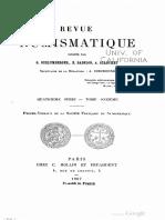 Trois monnaies mérovingiennes inédites / G. Amardel
