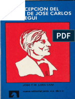 La Concepción Del Mundo de José Carlos Mariátegui, José F. W. Lora Cam