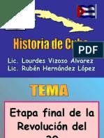 Clase 21 - Guiteras y finales de la Revolución del 30-1