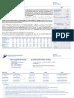 Mobinil 1H 2010 Results Update - Jazira Capital