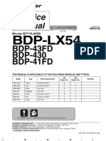 [RRV4152] BDP-41FD, BDP-43FD, BDP-430, BDP-LX54 (1, 2, 5, A, B, C)
